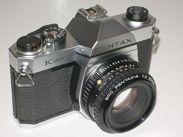 pentax k1000 примеры фото